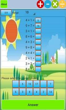 Kids Addition and Subtraction poster