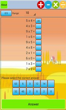 Kids Addition and Subtraction apk screenshot