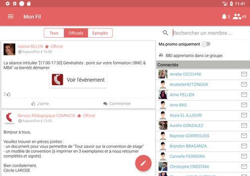 Comnicia apk screenshot