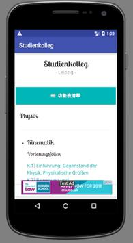 Studienkolleg screenshot 4