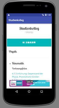 Studienkolleg screenshot 8