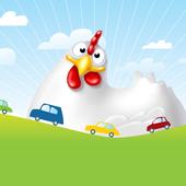 Chicken Crossing Freeway icon