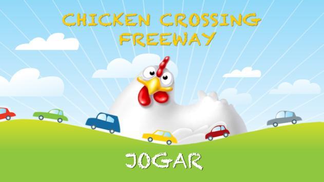 Chicken Crossing Freeway poster