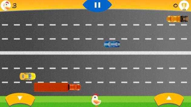 Chicken Crossing Freeway apk screenshot