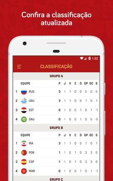 Copa do Mundo Rússia 2018 - Jogos, tabela e mais screenshot 2
