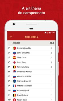 Copa do Mundo Rússia 2018 - Jogos, tabela e mais screenshot 4