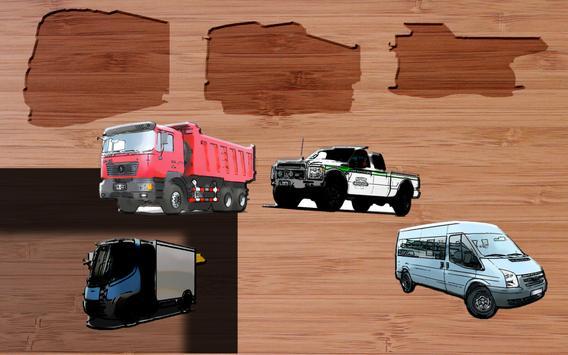 GABA Vehicles Puzzles(NO ADS) screenshot 4