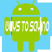 NO | 100 Ways to say No icon