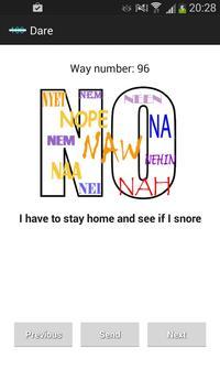 NO | 100 Ways to say No poster