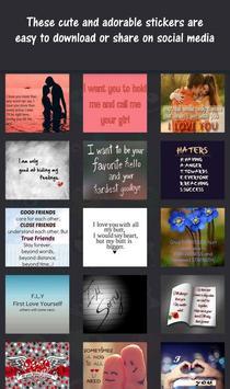 Stickers for Messenger screenshot 3