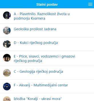 Prirodoslovni muzej Rijeka apk screenshot