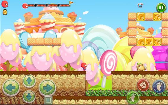 Amazing Spider Hero Jungle Run screenshot 13