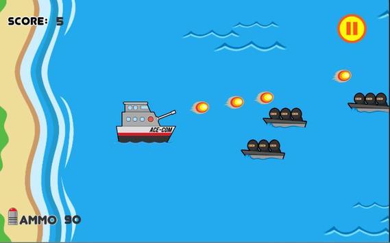 Ace-Com Defence: One Tap Tower Defense screenshot 1