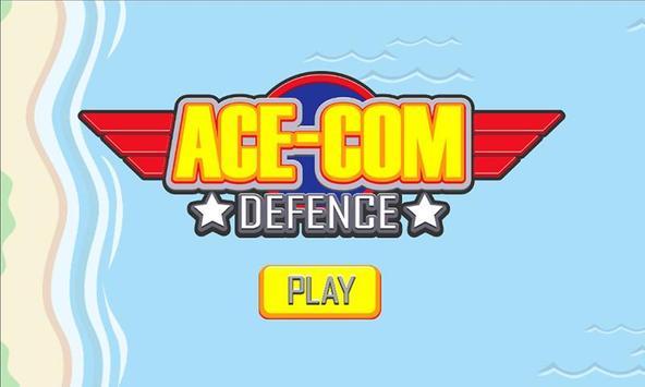 Ace-Com Defence: One Tap Tower Defense screenshot 4