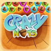 Crazy Nuts Bubble icon