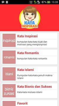 Kata Inspirasi poster
