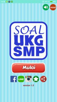 Soal UKG SMP poster