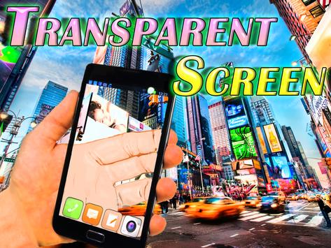 TRANSPARENT Screen Joke apk screenshot