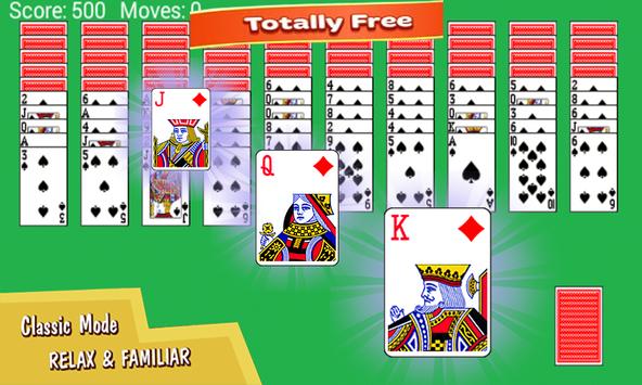 Spider Solitaire Puzzle screenshot 1