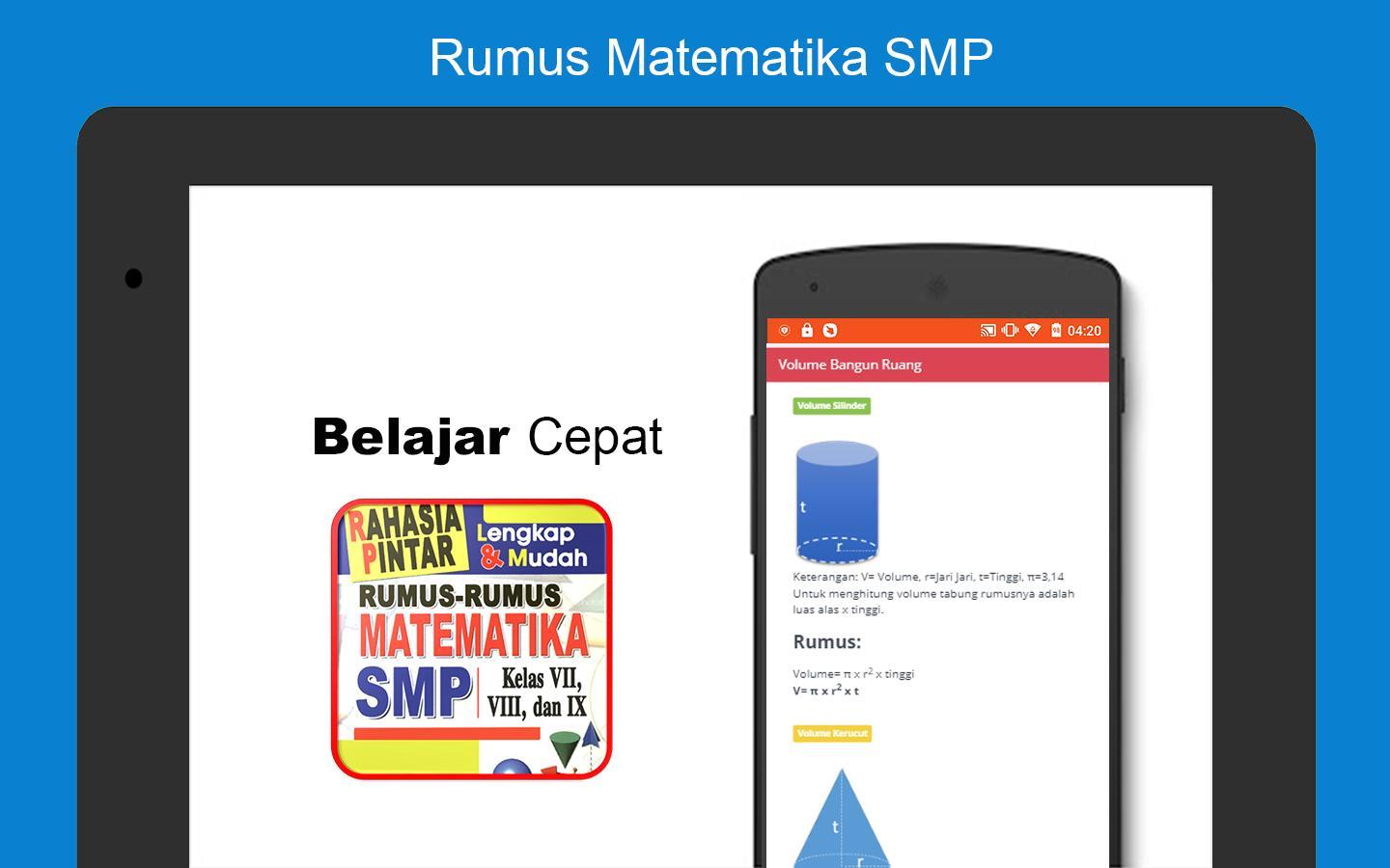 Rumus Matematika Smp Kelas 7 8 9 Lengkap Para Android Apk Baixar
