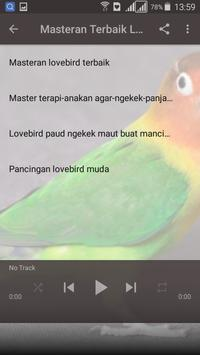 Kicau Master LoveBird screenshot 6