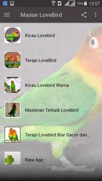 Kicau Master LoveBird screenshot 1
