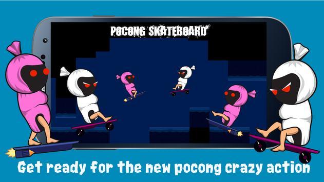 Pocong Skateboard poster