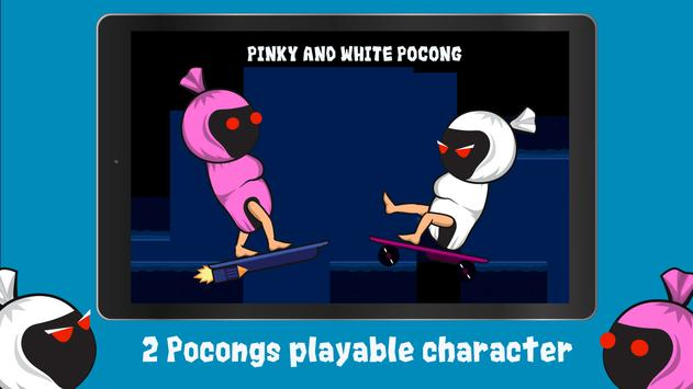 Pocong Skateboard apk screenshot