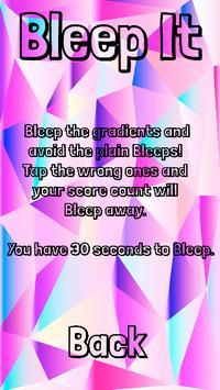Bleep It ! screenshot 1