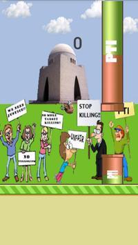 Flappy Nawaz Sharif poster