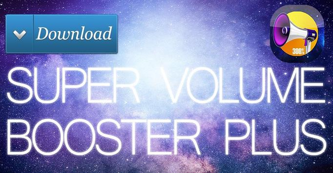 Volume Booster Control 2017 poster