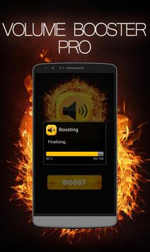 Volume booster pro 2017 apk screenshot