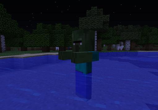 Zombie Town Minecraft apk screenshot