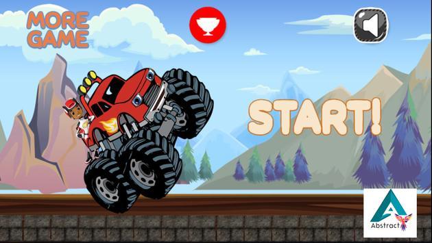 Blaze Monster Truck Adventure poster