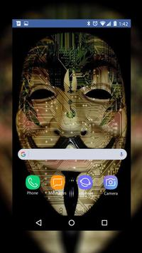 Anonymous Wallpaper HD screenshot 4