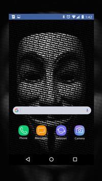 Anonymous Wallpaper HD screenshot 3