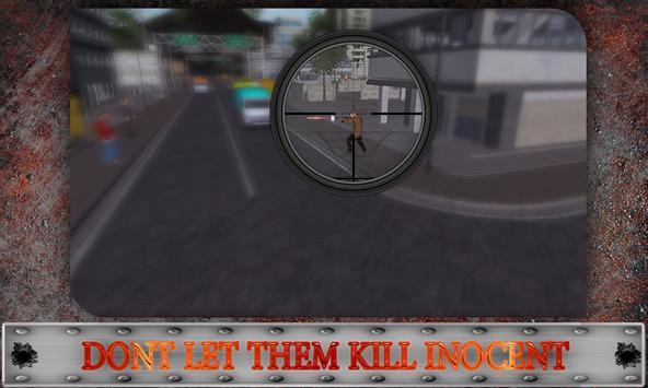 Furious Sniper Assassin 3D poster