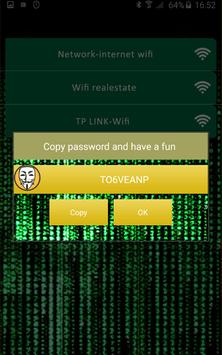 WiFi Password Hacker Prank screenshot 1