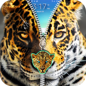 Cheetah Leopard Zipper icon