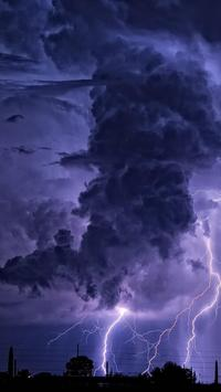 Thunderstorm Wallpapers Free poster