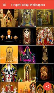 Tirupati Balaji Wallpapers screenshot 1