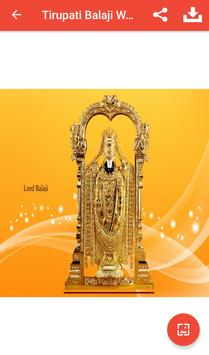 Tirupati Balaji Wallpapers screenshot 2