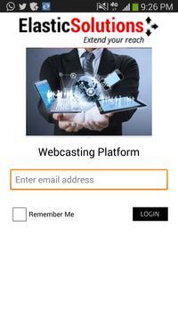 Webcasting Platform poster