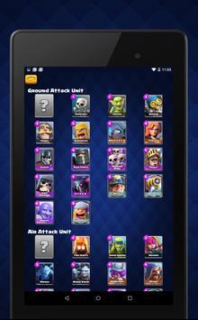 Deck Builder for Clash Royale apk screenshot