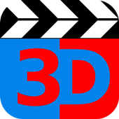 Anaglyph 3D icon