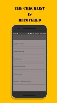 EveryDay CheckList - Daily Recovery Checklist screenshot 3