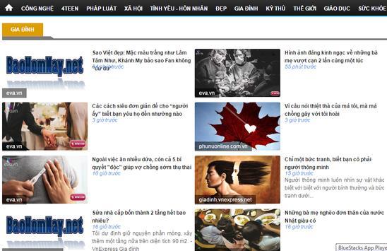 Báo hôm nay: tin tức, báo điện từ, cập nhật 24h apk screenshot