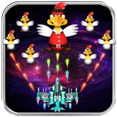 Chicken Shooter -Space Defense icon