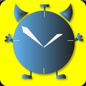 Alarm clock Doozy for the lazy icon