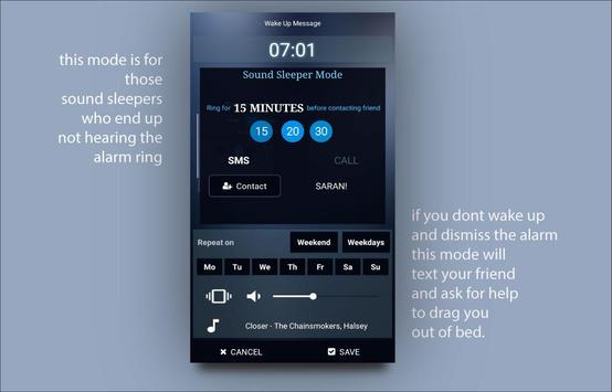 Alarm clock Doozy for the lazy screenshot 2